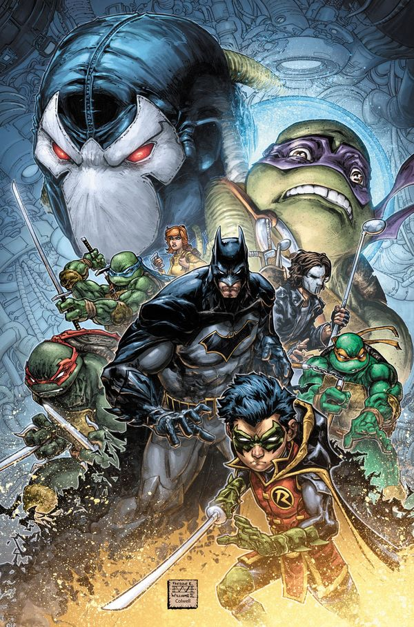 Batman/Teenage Mutant Ninja Turtles Comic Crossover II From IDW & DC Announced - DC Comics - Action Figures Toys News ToyNewsI.com