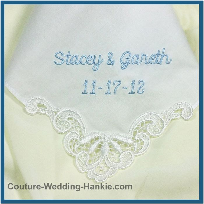 Embroidery on a handerchief | CUSTOM EMBROIDERY HANDKERCHIEF « EMBROIDERY &  ORIGAMI