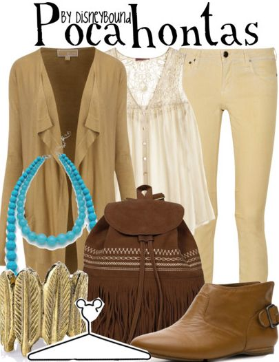 Pocahontas by disneybound