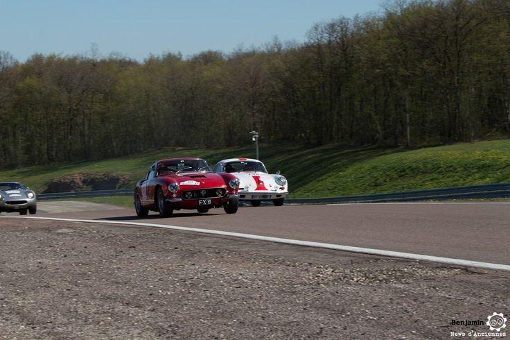 #Ferrari #250 #GT #Berlinetta et #Porsche #356 sur le #TourAuto2016 à #Dijon_Prenois. Reportage : http://newsdanciennes.com/2016/04/20/tour-auto-2016de-passage-a-dijon-prenois-on-y-etait/ #ClassicCar #VoituresAnciennes #VintageCar #MoteuràSouvenirs