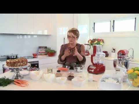 KitchenAid Artisan Food Processor - Moist Carrot Cake