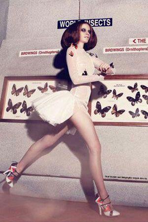 Monika Bednarova extravagance model