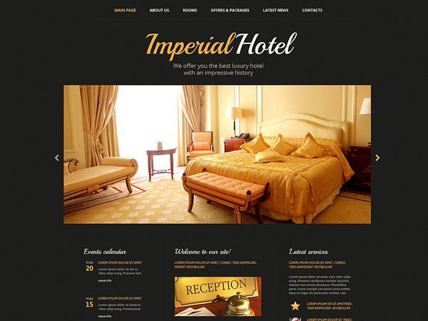Imperial Hotel Template