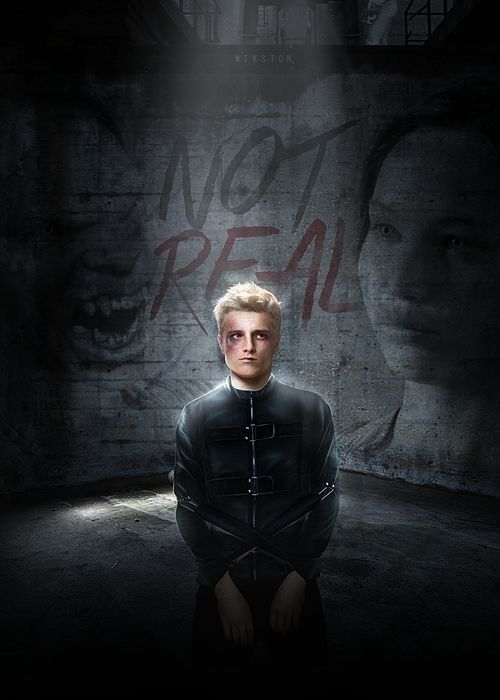 Hijacked Peeta from nickston.tumblr.com   Our leader the ...