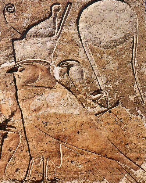 Site de Deir el Baari - Horus