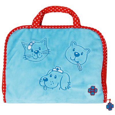 Braucht der Teddy ein Pflaster oder hat sich der Plüschhund seine Pfote verletzt? Kein Problem! Mit diesem Erste-Hilfe-Set kannst du alle deine Plüschtiere verarzten.
