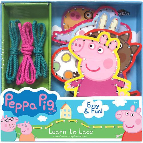 """Peppa Pig Learn To Lace - CRA-Z-ART - Toys """"R"""" Us"""