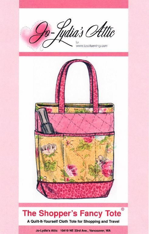 Looking for your next project? You're going to love The Shopper's Fancy Tote by designer Barbara Weiland. - via @Craftsy