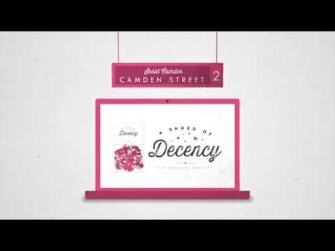 'Shred Of Decency' Campaign  同性婚に反対するリーフレットやパンフレットを回収して、結婚式用の紙吹雪に変えて販売。収益を結婚の平等のために活動する団体への寄付金に。