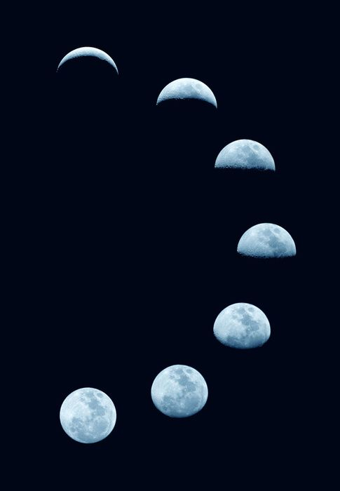 Compared to the Renaissance, the phases of the moon are now view more differently and more accurately due to technology.