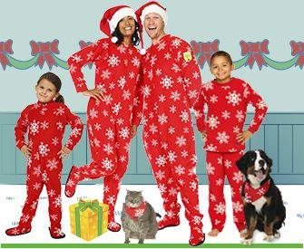Pyjamas de Noël pour toute la famille - Idées pour les fêtes