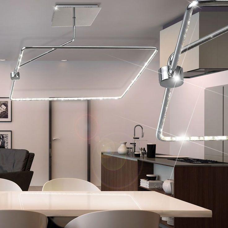 Lusso Luce Copertura LED Ufficio Illuminazione Cucina Lampadario A Sospensione