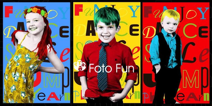 Campbell kids Pop Art 2, PT´s Foto Fun