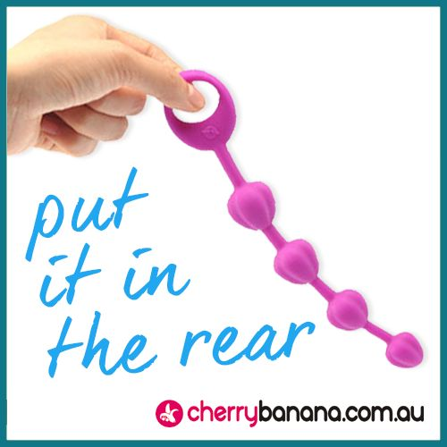 Like it in the rear? Why not explore our range of anal beads,