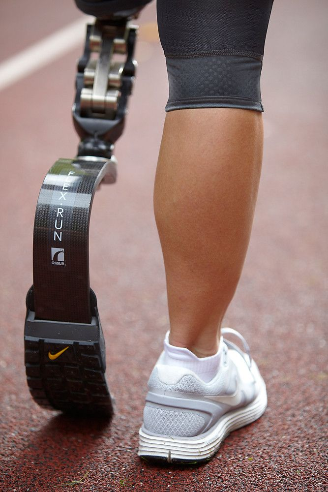 """Nike Invents A """"Shoe"""" For Athletes With Prosthetic Limbs!!! This is awesome!! My dad will be losing his leg at some point in the next couple years or sooner. This is incredible and brings tears to my eyes!!"""