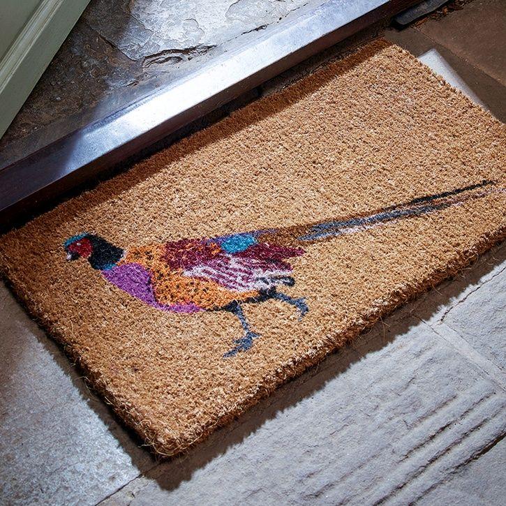 Cox & Cox Doormat Pheasant  | Prezola - The Wedding Gift List