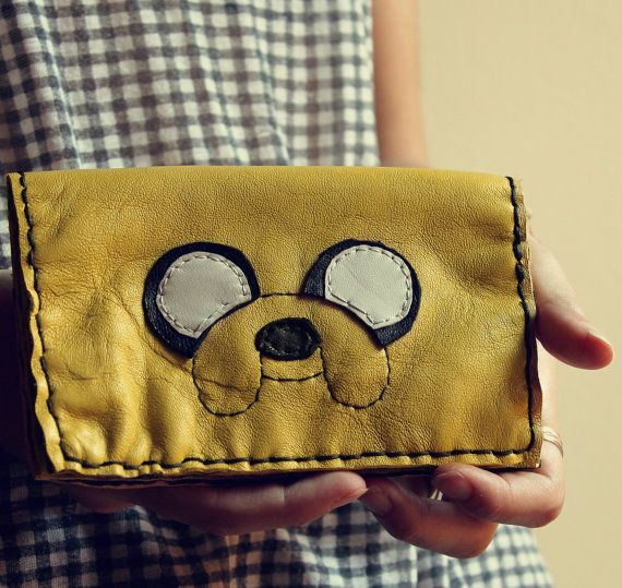 Handmade leather tobacco case Jake by ChibiPyroFable on Etsy