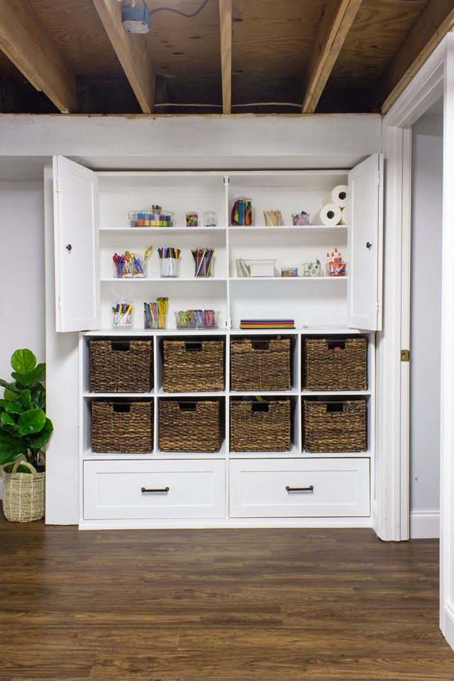 Toy Storage Unit Shades Of Blue Interiors Toy Storage Units Living Room Toy Storage Basement Storage Cabinets