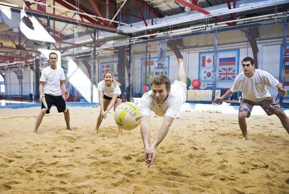 Indoor Beach Volleyball
