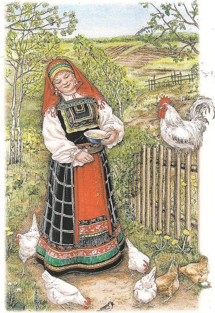 Voronezh folk costume