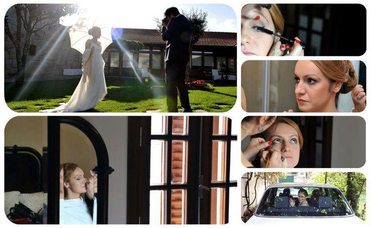 Casamento de Raquel e João    Make up - Patrícia Rodrigues    Fotógrafo - Joaquim Pedro Correia