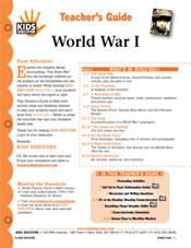 World War I - KIDS DISCOVER Magazine: For Kids, Kids Discover, Free Lesson, Teacher, Social Studies, Lesson Plans, Kidsdiscover