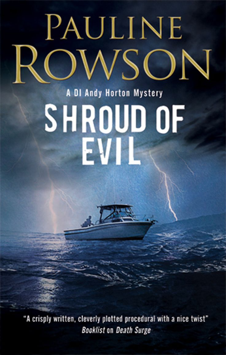 Shroud of Evil by Pauline Rowson  When a private investigator goes missing, Detective Inspector Horton of Portsmouth CID believes he's probably run off with a woman. But when the man's car turns up, and a shocking discovery is made, things turn serious, and Horton himself embroiled in an investigation that has major personal ramifications, and could potentially end his career. #detective #crime