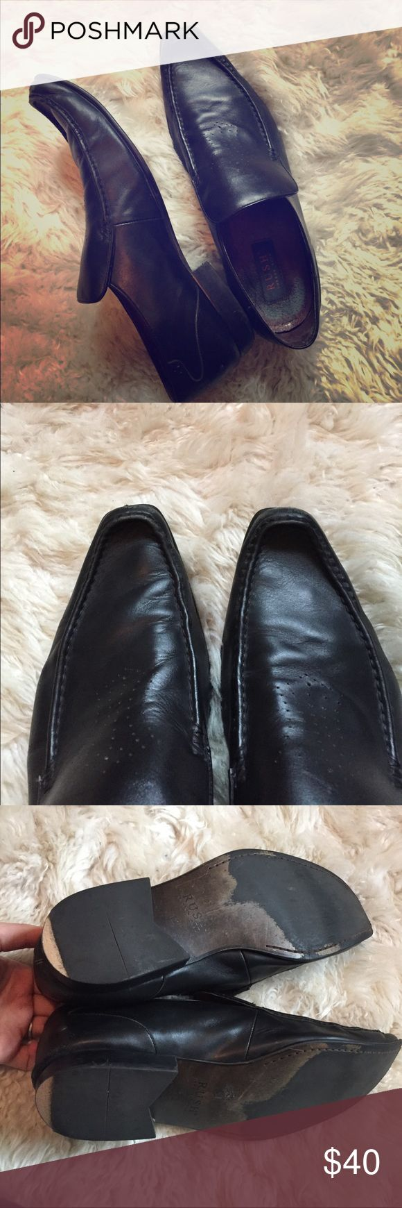 Gordon Rush 12 MENS slip on loafers Worn good shape, needs some sole work (heels) but actually sole itself in good shape as is leather and overall nicely worn in but still great. Gordon Rush Shoes Loafers & Slip-Ons