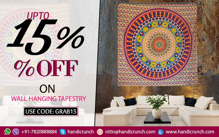 Shop online wall hanging tapestry with the best price.