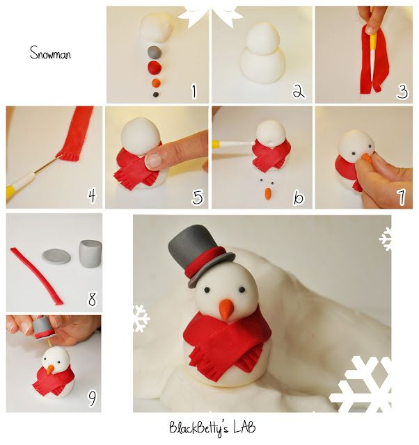 BlackBetty'sLab: Tutorial Pupazzo di neve!
