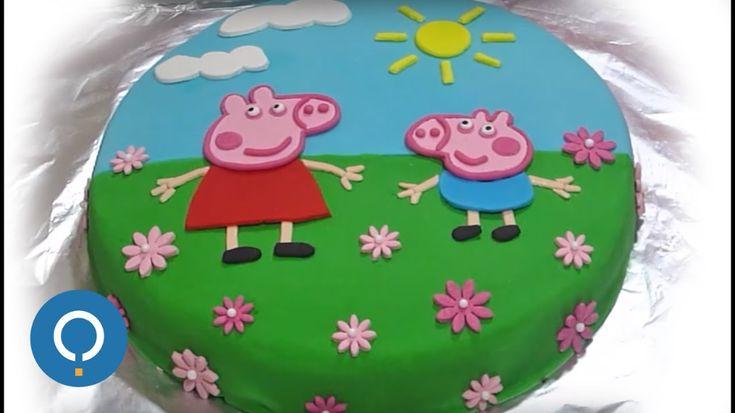 peppa pig cake – Ecosia – Cake design