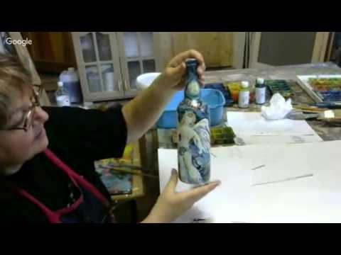 Декупаж и художественная роспись. 11-й день конференции «Декупаж и художественная роспись» Наталья Баженова