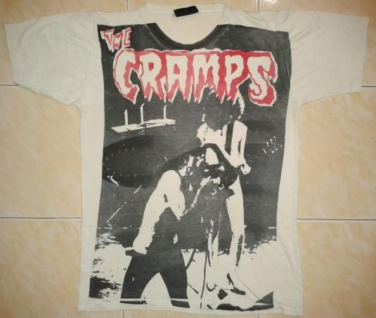 The cramps shirt girl long dress