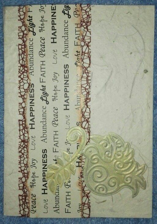 Handmade paper, Cuttlebug