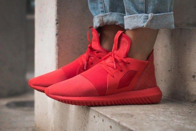 ADIDAS TUBULAR DEFIANT (LUSH RED) - Sneaker Freaker