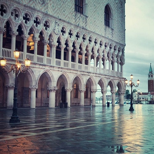 Venice...my favorite time in the square is 5 am...