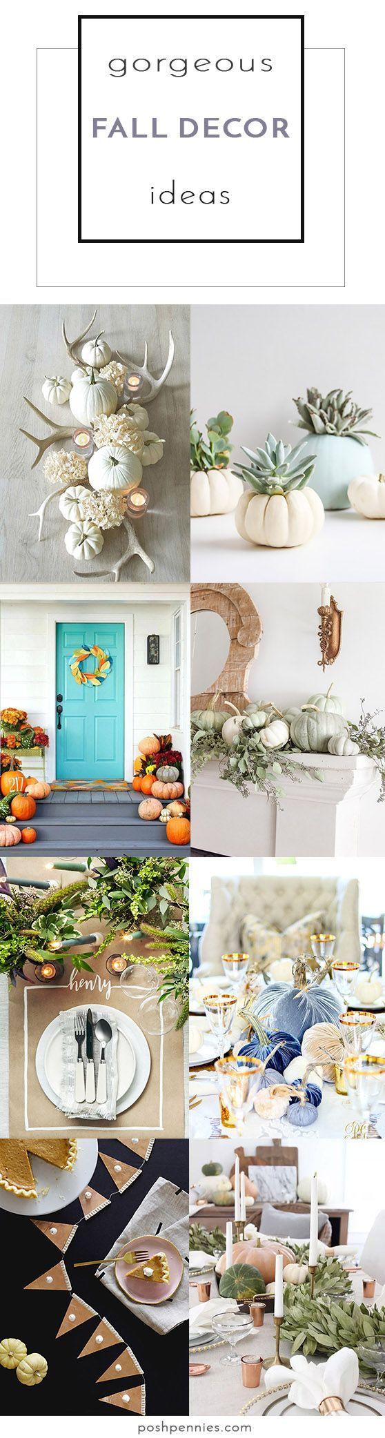 Fall Home Decor Ideas That Actually Look Good | Fall Decor ...
