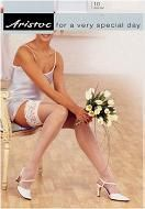 Aristoc Bridal 10 Denier Lace Top Hold ups. For a very special day!!