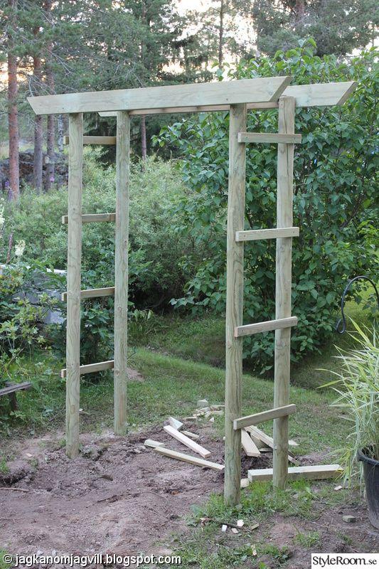 trädgårdsportal,trädgårdsport