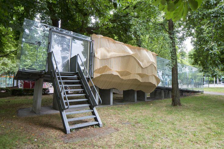 Gallery of Tschumi Pavillion / Academy of Architecture Groningen - 1
