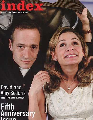 The Sedaris siblings: David & Amy