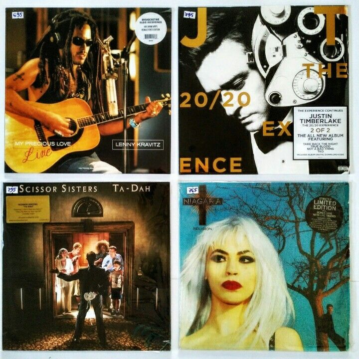 |i| Lenny Kravitz – My Precious Love  (M/NM)  – 695 грн.  Justin Timberlake – The 20/20 Experience 2 Of 2  (M/NM)  – 795 грн.  Scissor Sisters – Ta-Dah  (M/NM) – 795 грн.  Niagara – Religion  (VG+/VG+)  – 765 грн. #newindiskultura #diskultura #TrueVinylRecordsStore #kyiv #kiev #киев #київ #kyivshop #vinyl #винил #пластинки  #LennyKravitz #PopRock#JustinTimberlake #PopCulture #ScissorSisters #ElectroDiscoPunk#Niagara #PopRock