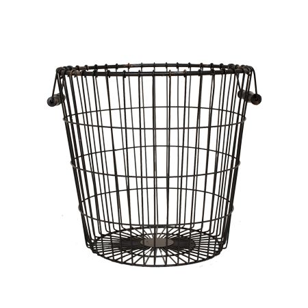 *actual* Bedroom Basket $68!! Black Laundry Basket – The Magnolia Market