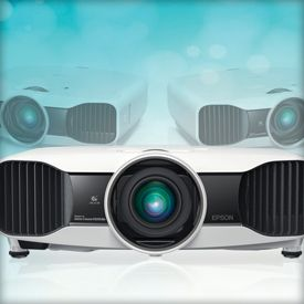 Best home theater projectors-Home theater projectors add a wealth of features such as 3D capabilities for both standard-definition and 1080p content. Here are the five best home theater projectors on the market right now.
