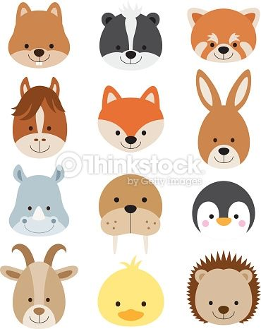 animal face clip art - Google Search