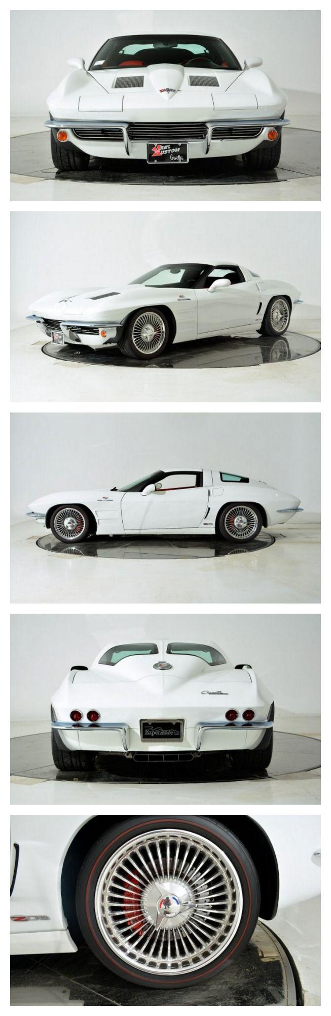 Breathtaking Chevrolet Corvette Z06 by Karl Kustom Corvette and Lingenfelter Performance Engineering #MusclecarMonday