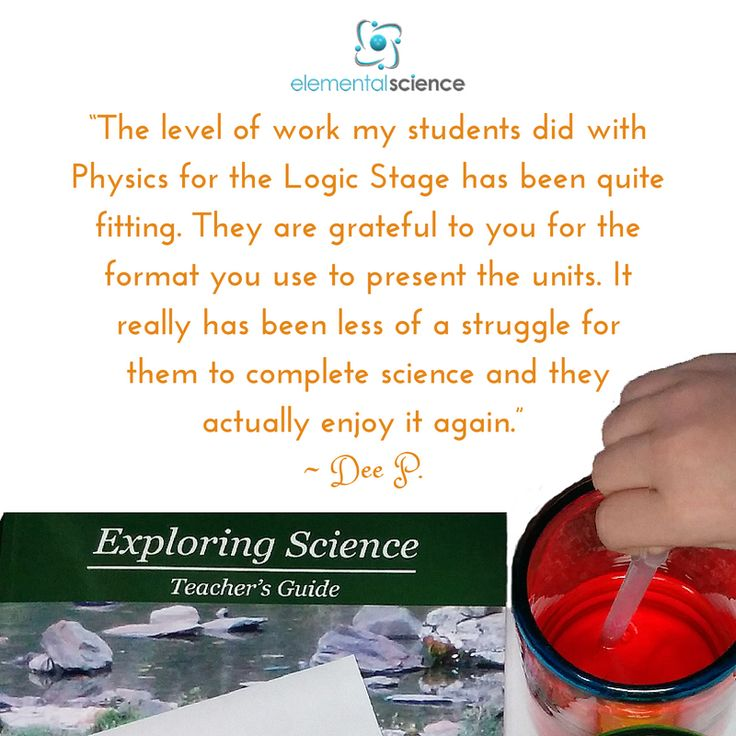 """""""My students are grateful to you for the format you use to present the units. They enjoy science again."""" ~Dee P."""