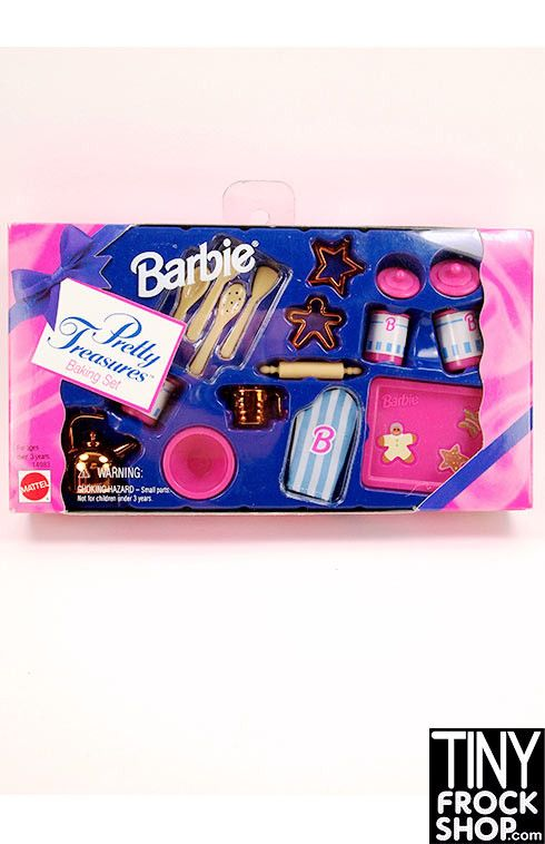 This super cool set is so perfect for all your baking needs. New in box from 1995, it includes all items shown. Good condition for it's age!