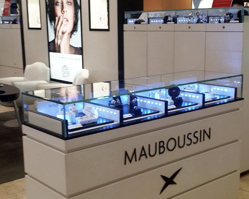 Mauboussin - TAKASHIMAYA 391 Orchard Road  Singapore 238873  Tel: 6738 1111.  Business Hours: 10 am to 9.30 pm