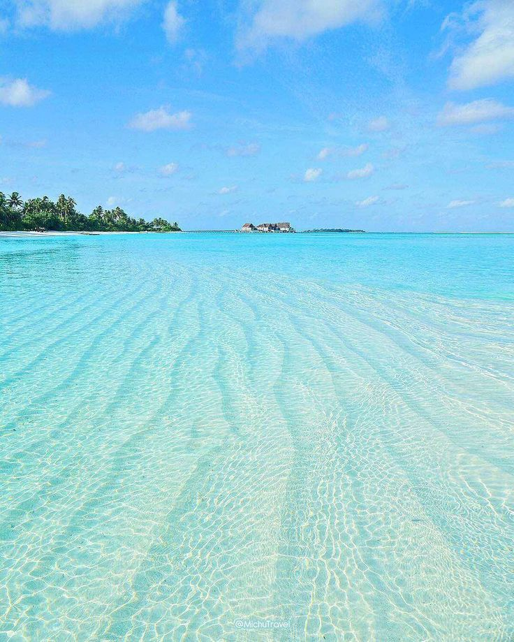Tropical Beach And Peaceful Ocean: Pinterest Peaceful Blue Sea Ocean. Relaxing And Cool